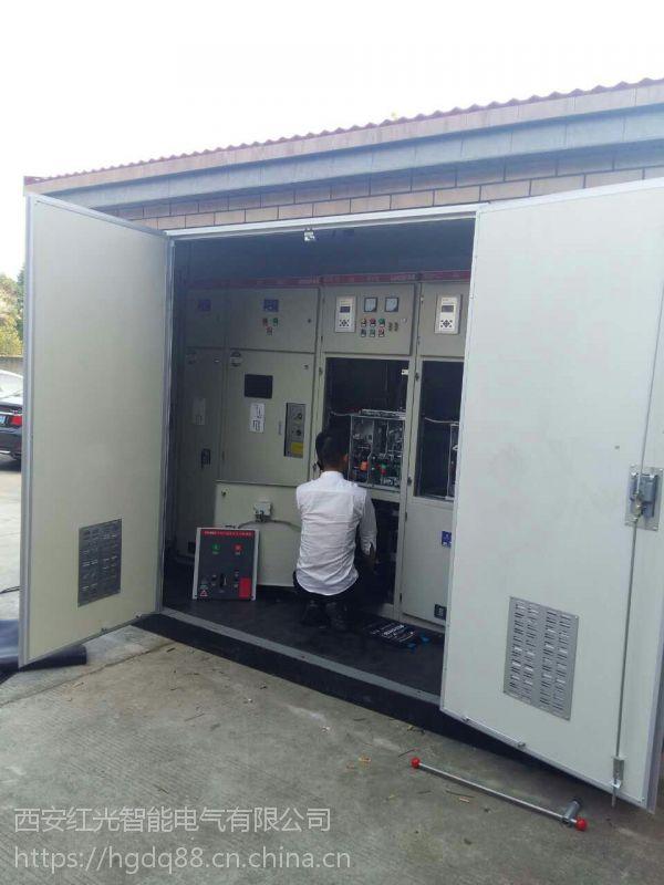 四川地区YB-10/0.4户外高原型箱式变电站