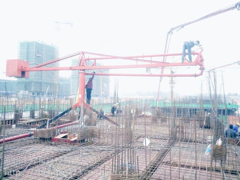 台州郑科HG12型手动布料机楼房施工更稳定
