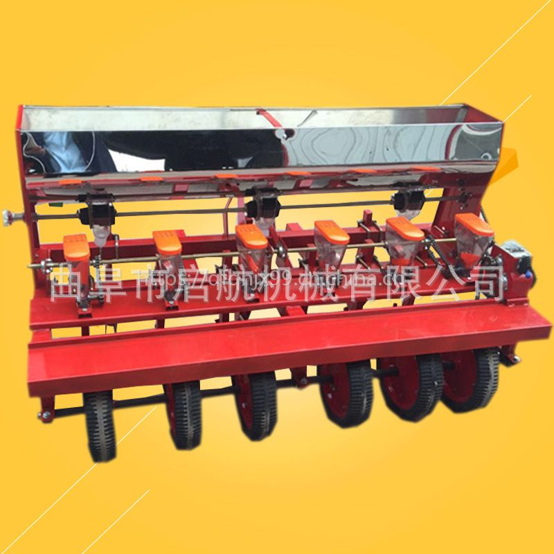 四行蔬菜播种机 高粱黍子精播机 免间苗精密谷子播种机