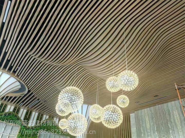 宁波弯弧铝方通厂家,异形方通定制价格。
