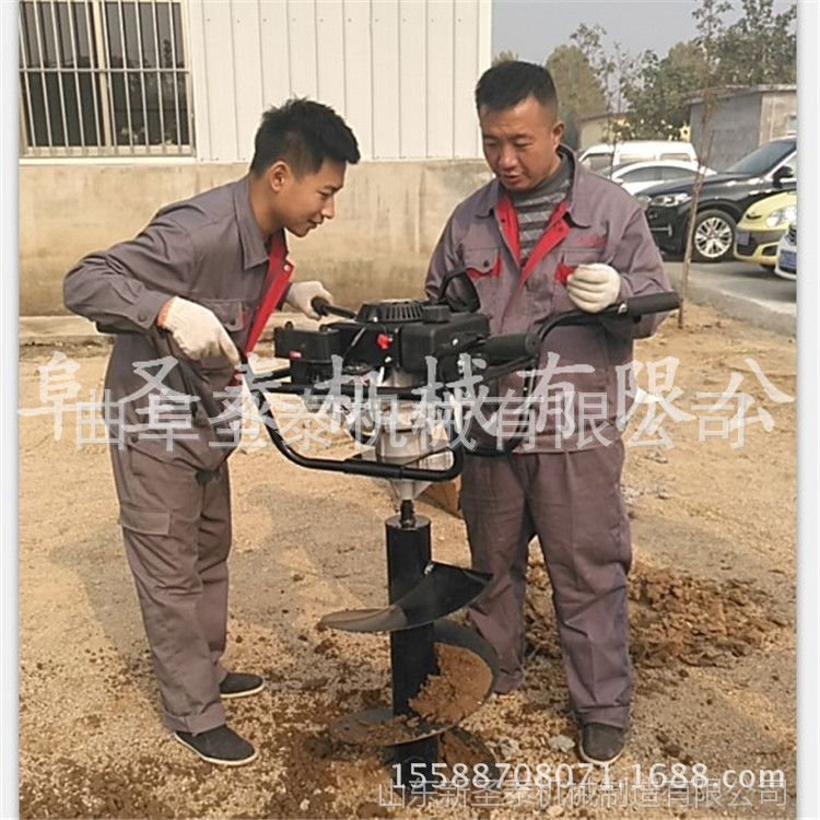 单人操作挖树坑机械 树穴园林植树高效率地砖机厂家直营