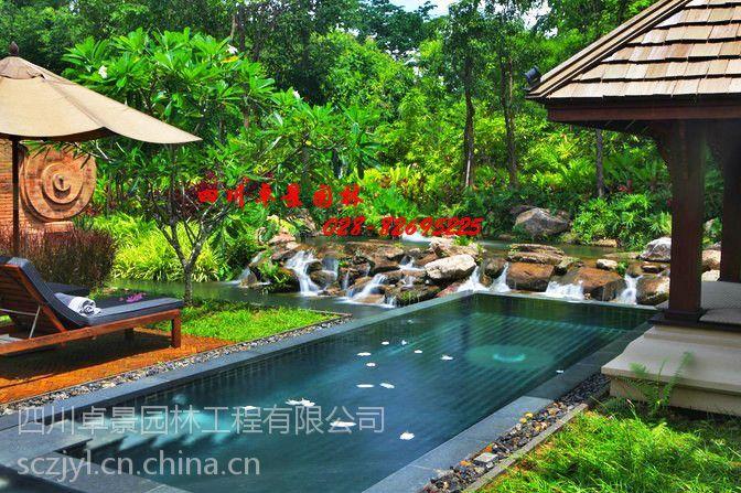 成都温江专业别墅庭院设计公司