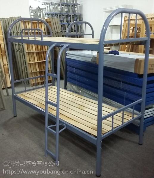 合肥加厚宿舍铁架床合肥大学生公寓床合肥双层实木床厂家热卖优惠多多