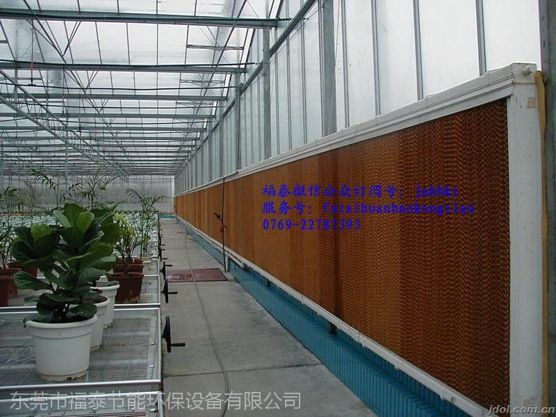 东莞塘厦压轴水帘风机湿帘降温系统