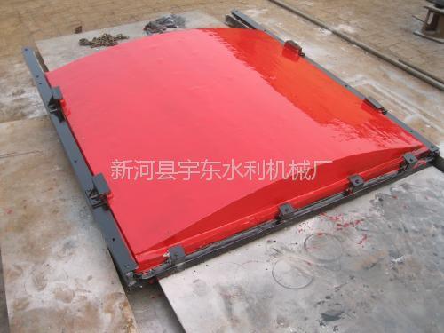 辽宁营口1.4米*1.4米渠道平面铸铁闸门价格