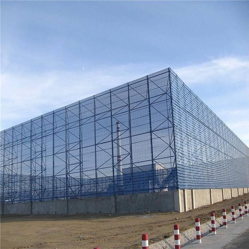 煤场防风抑尘网安装 山西防风抑尘网那里有 沙场挡风墙