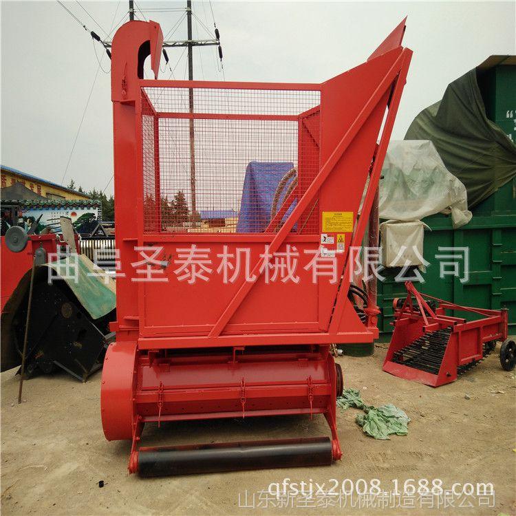 厂家直销大型养牛场玉米秸秆回收机 青贮饲料收获机 青储机改装