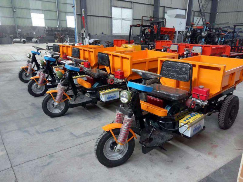 柴油电动自卸车 电启动柴油型三轮翻斗车