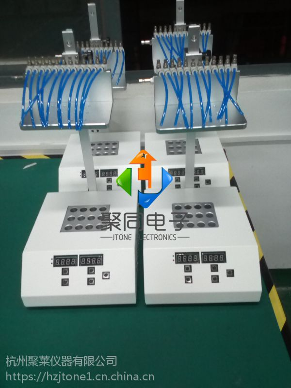 聚同96孔加热氮吹仪JTN100-96氮气吹扫仪厂家报价