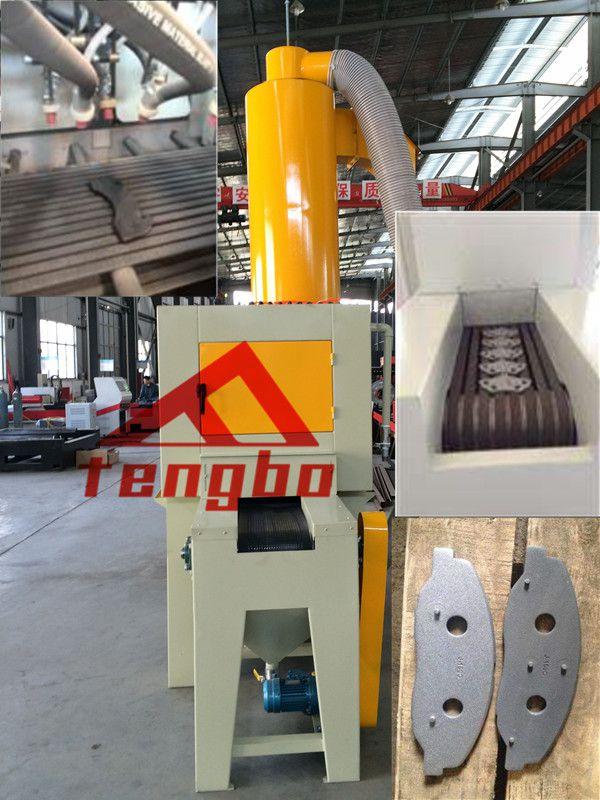 供应TB-SS300-8A 刹车片输送式喷砂机 刹车片自动喷砂机厂家