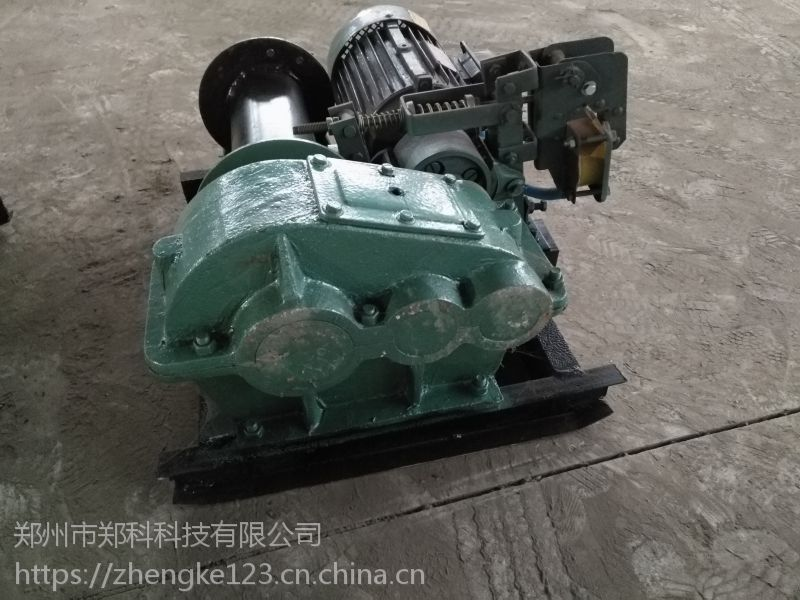 浙江台州郑科0.5T拉力液压制动自动卷扬机使用安全