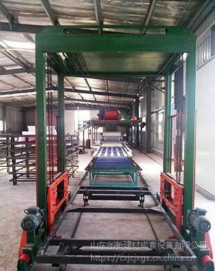 山东创新菱镁板机械设备、菱镁板生产线设备畅销国内外