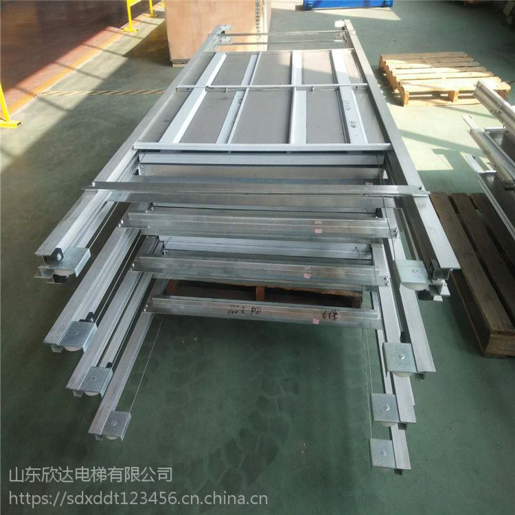 山东欣达xd-2厂家加工批发电梯轿门 餐梯厅门 电梯门滑道