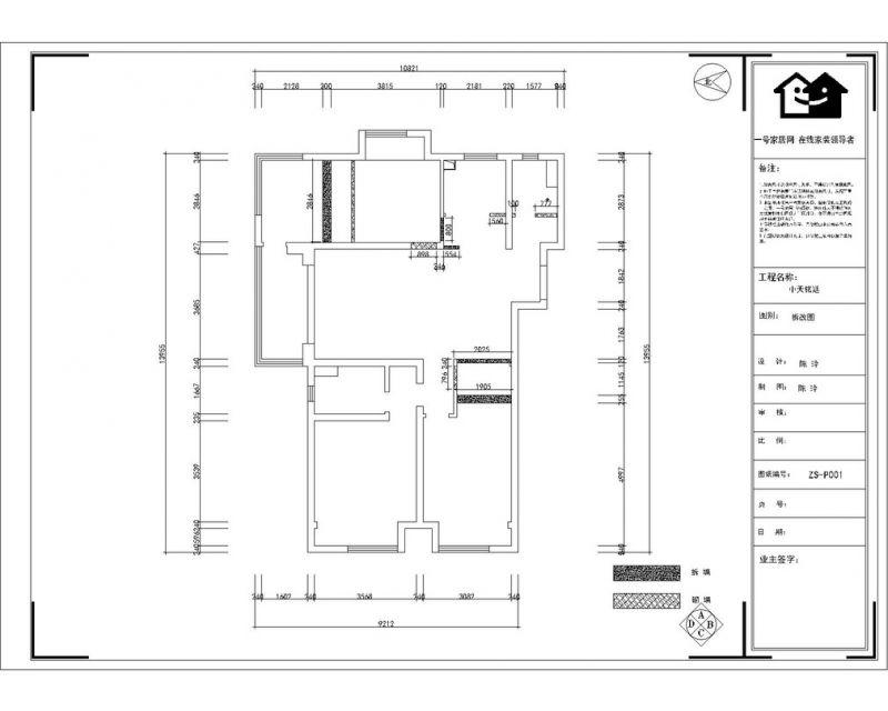 世茂外滩新城140平户型设计方案-一号家居网-世茂外滩新城140平装修效果图