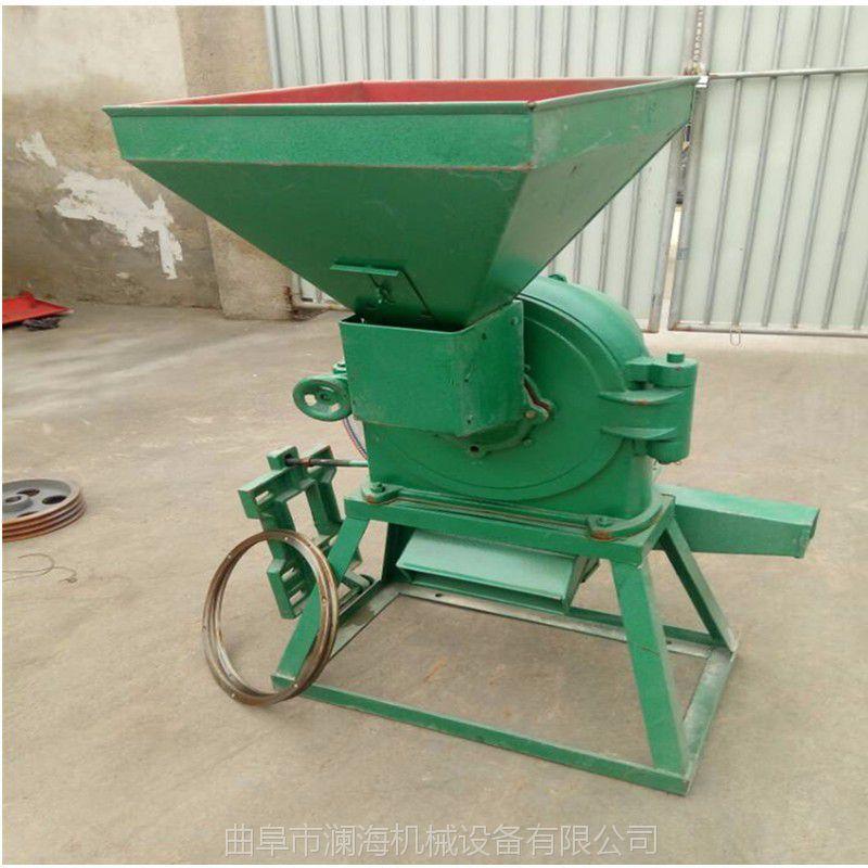 家用小型石磨电动面粉机 多功能小麦面粉机