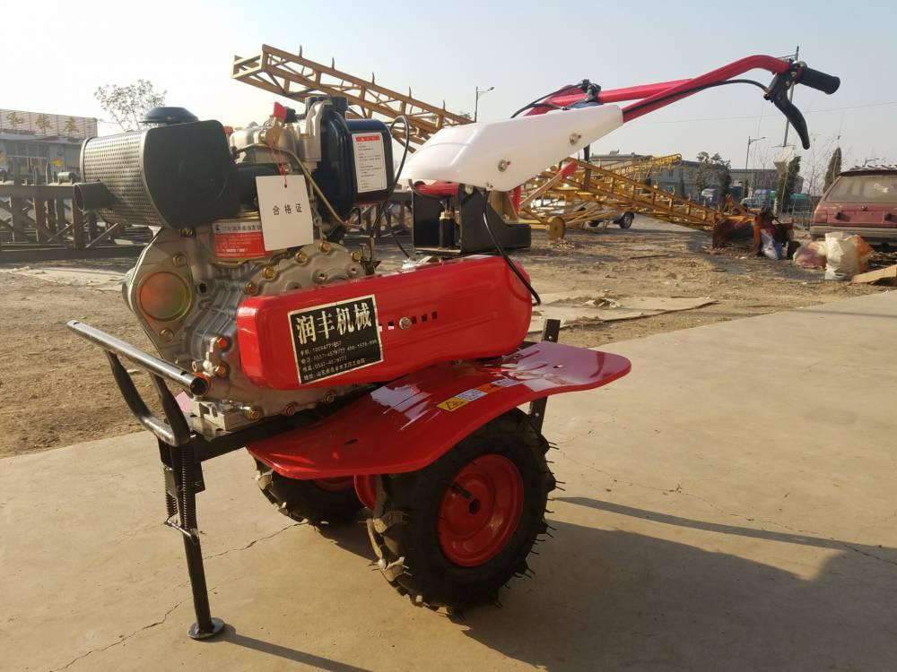 背负式除草头旋耕机 润众 高效率小型还田旋耕机