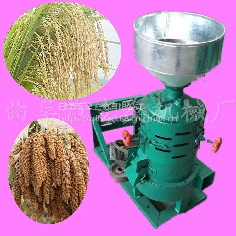 小型喷风糙米碾米机 水稻抛光机精米机
