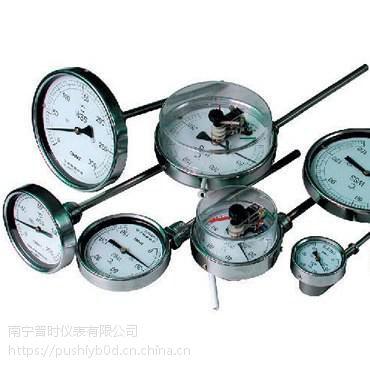 电接点双金属温度计,WSS系列温度计-蒸汽和气体介质温度。