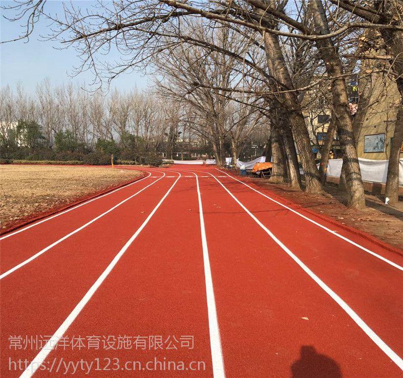 河北体育场塑胶跑道透气跑道学校操场跑道透水型跑道材料厂家直供