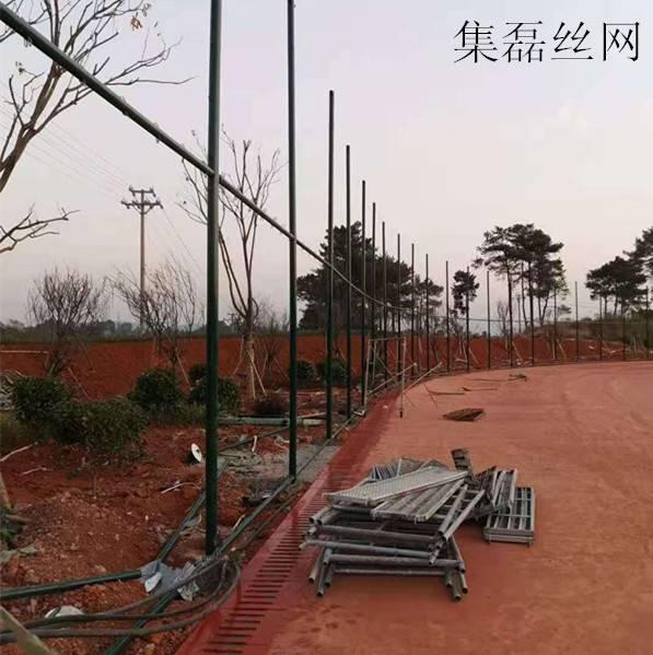 平顶山围网平顶山球场围网菱形铁丝网定做13833840177