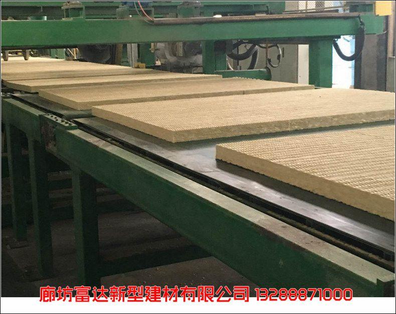 郴州岩棉复合一体板 (富达)3-15公分防水岩棉板