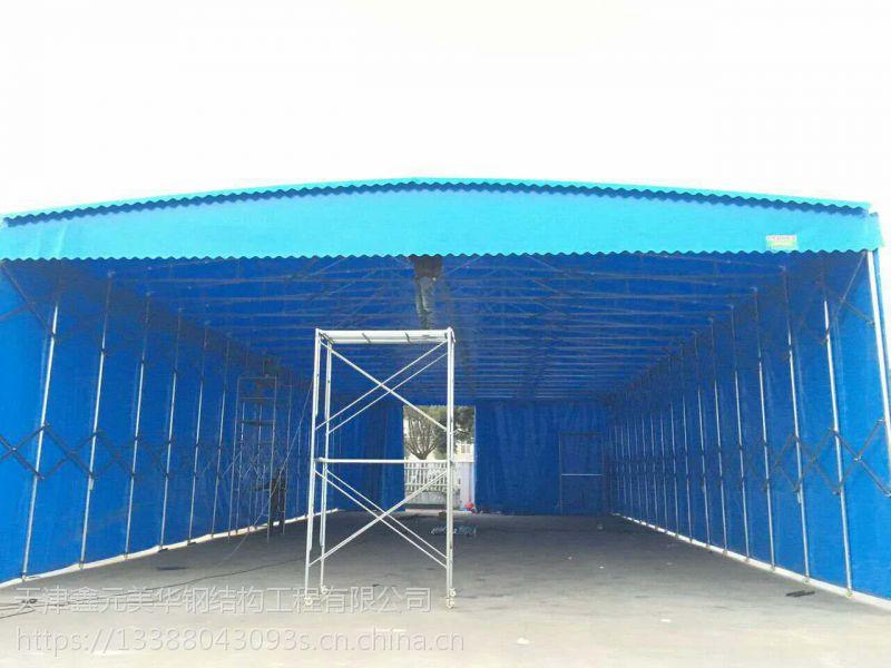 济南济阳推拉伸缩棚,大排档雨棚,门脸雨棚等系列产品