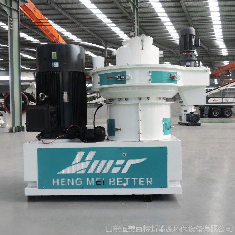 恒美百特生物质颗粒制造机 热销秸秆回收利用设备