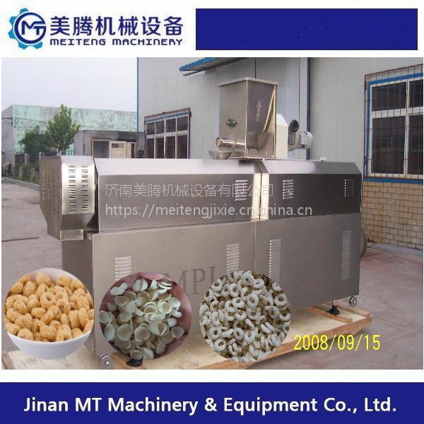 台湾米饼生产线,双螺杆食品膨化机厂家地址,非油炸膨化小食品生产设备