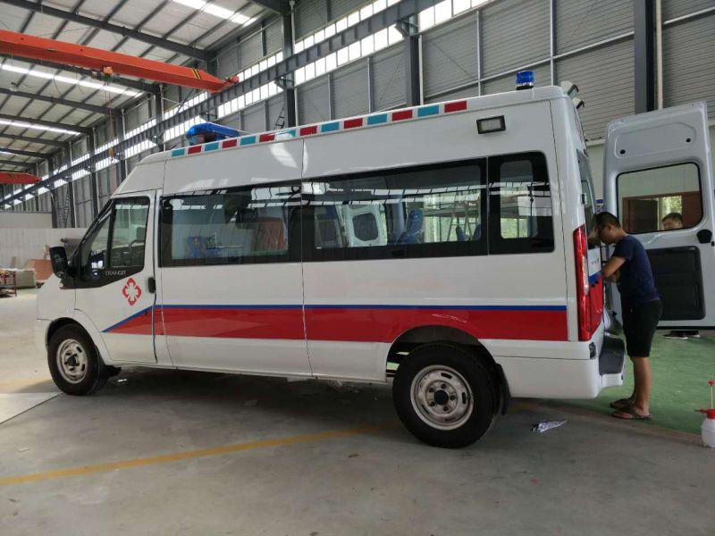新世代长轴V348 救护车厂家直销