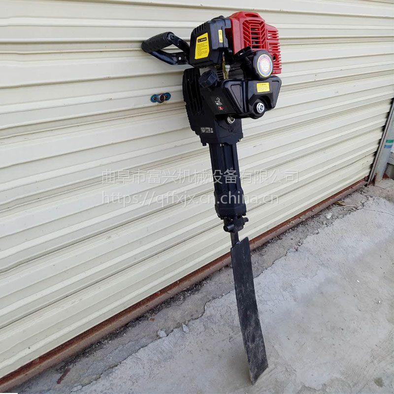 弧形铲头挖树机 富兴牌汽油起树报价