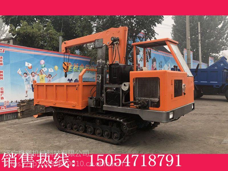 农用履带运输车 钢块履带运输机