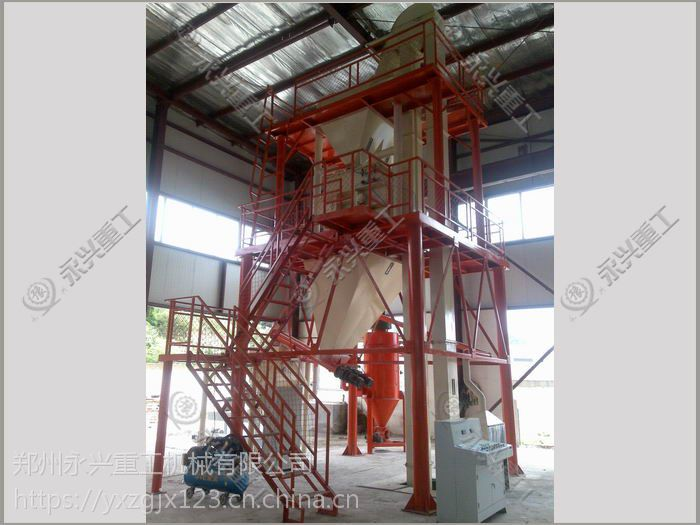 玻珠保温砂浆生产线 干粉砂浆成套设备 永兴牌
