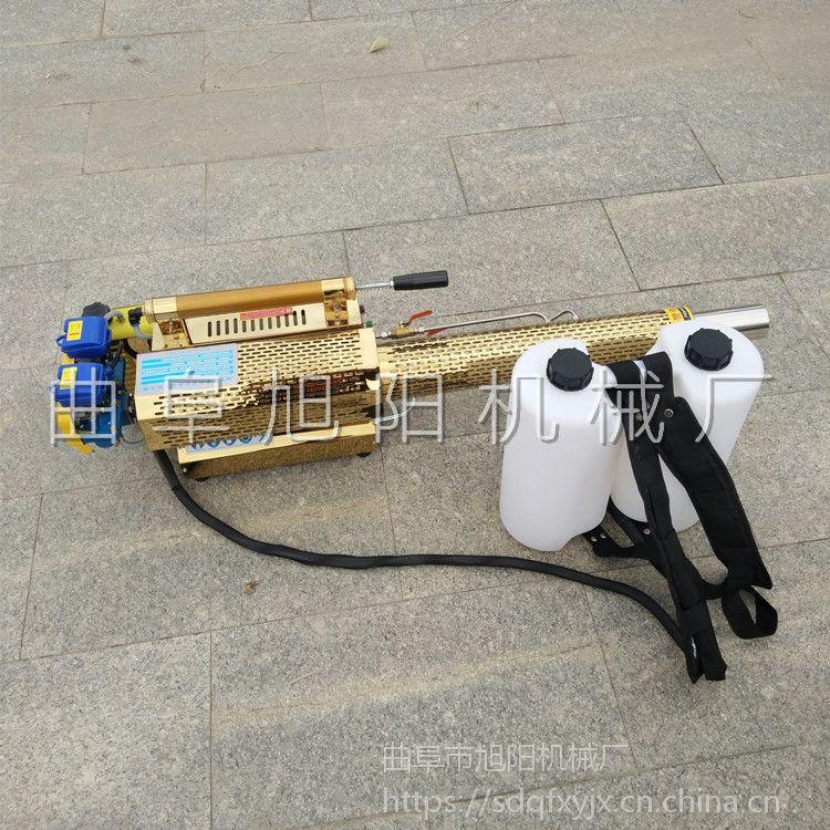 畅销苹果园手持喷雾器大棚烟雾水雾机脉冲动力杀虫机