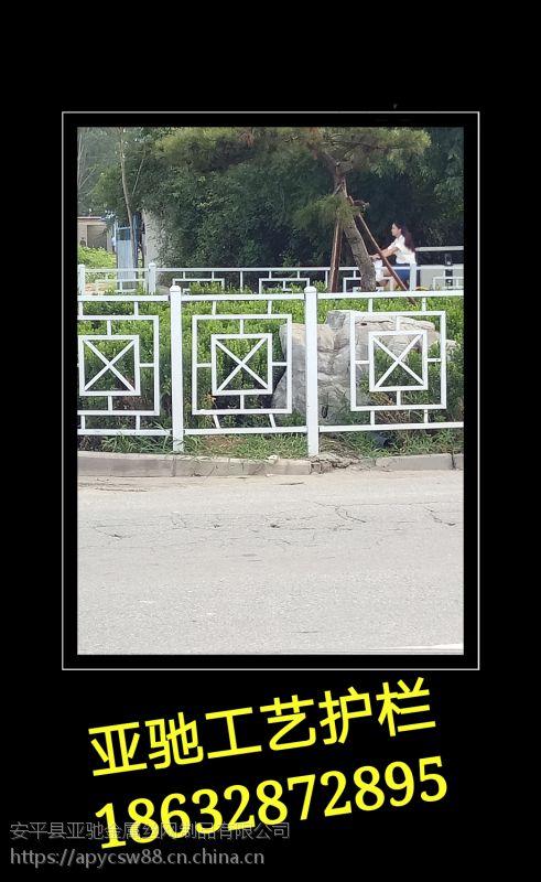 厂家直销市政道路交通护栏q235非机动车道质优价廉美观牢固