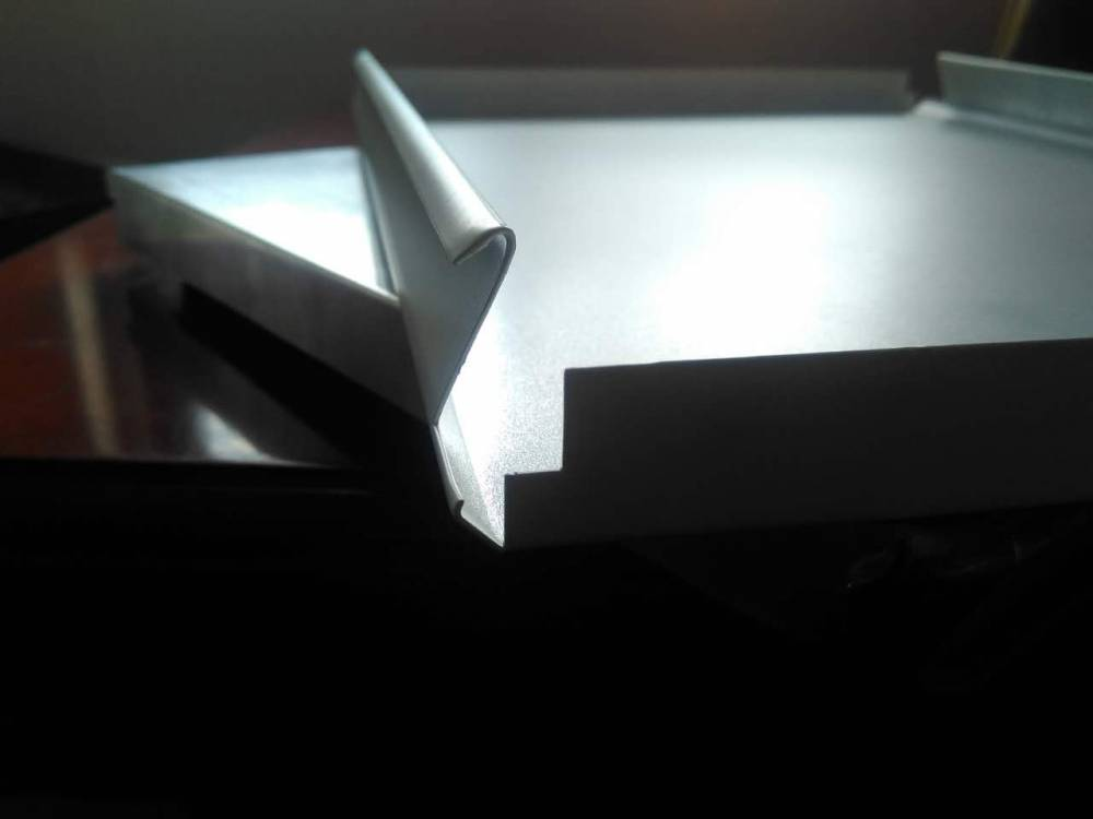 加油站高边S型防风铝扣板 防风条扣板天花吊顶