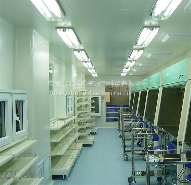 万级无尘室,洁净室、食品洁净车间,广州禄米科技定制