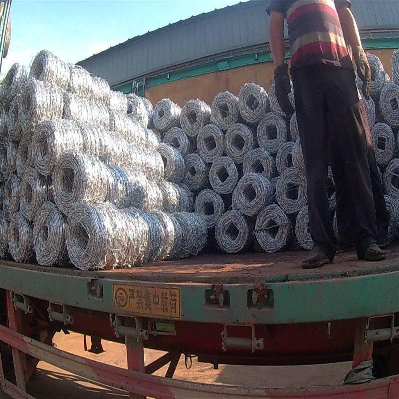 铁刺绳多少钱一斤 刀片刺绳多钱一吨 热镀锌刀片护栏