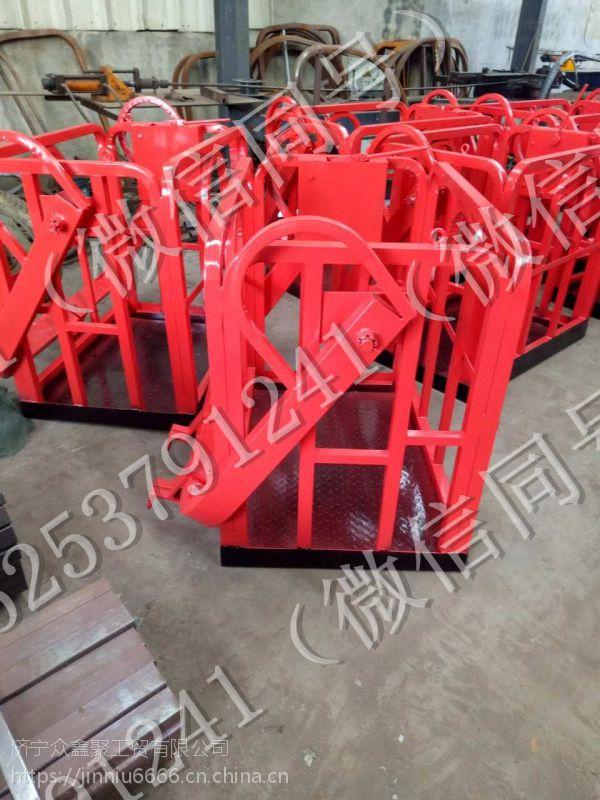 新款 1.5米 起重机 吊车专用施工吊篮 自动调平吊车专用吊篮