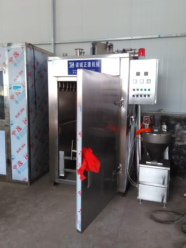 【诸城正康食品机械】直供zczk-50小型烟熏炉价格 可定制