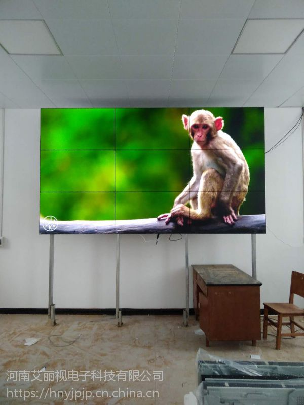菏泽生产55寸窄边拼缝液晶屏,聊城高端大屏品牌供应商,山东监控拼接屏求购价格