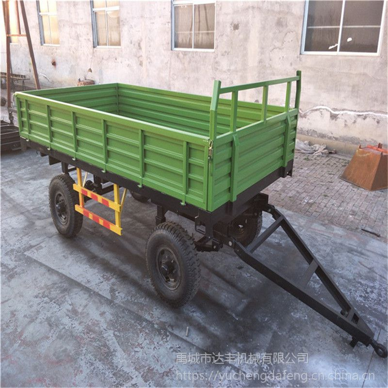 农用四轮拖拉机拖车 拖拉机后斗车厢 达丰机械专业生产定制运输挂斗拖斗