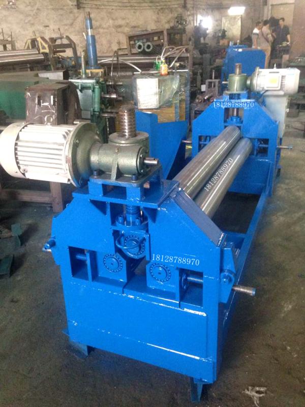 三轴卷板器 卷板厂家 佛山卷板器 弯弧器三轴滚弯器 定制卷铝板