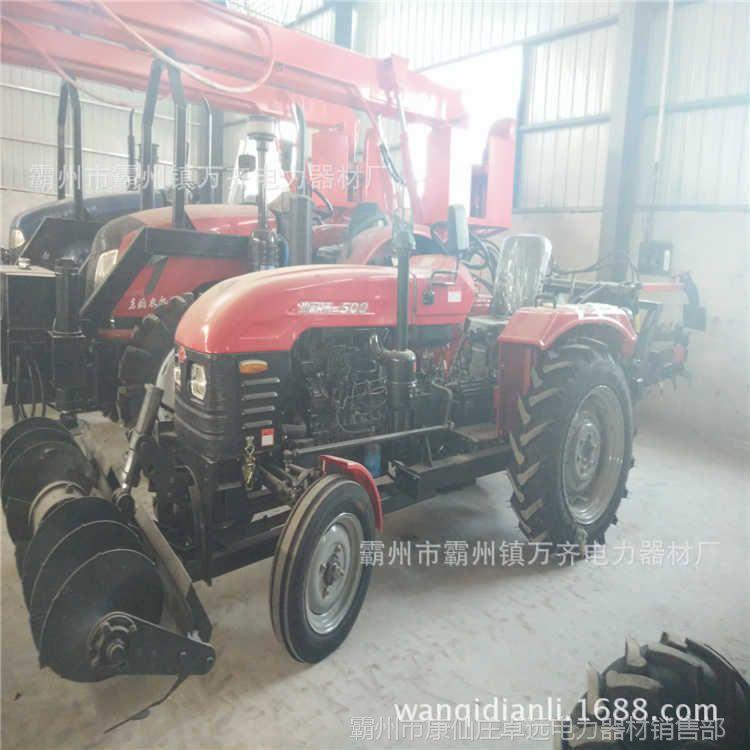 二手四轮拖拉机开沟机 四轮拖拉机开沟机 四轮拖拉机开沟机视频