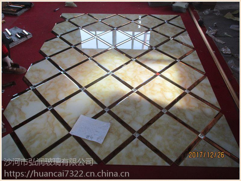 长期供应 3d玻璃拼镜 玻璃制品 三角玻璃镜 艺术拼镜