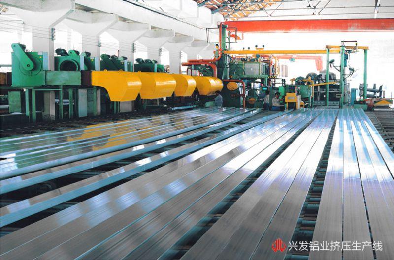 铝型材生产工艺之挤压