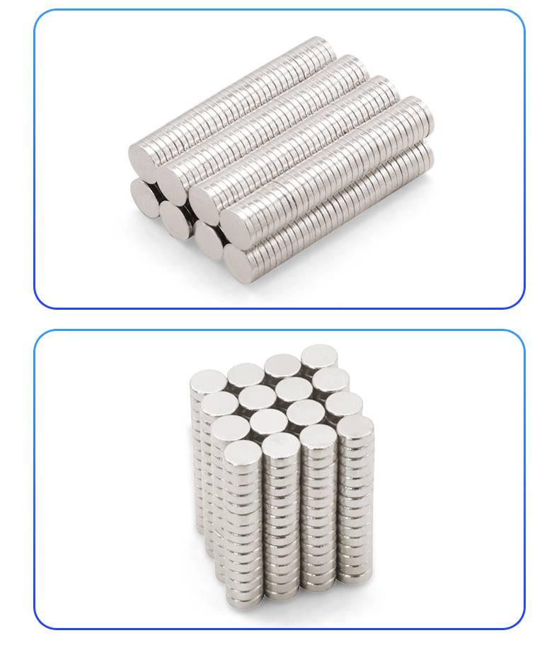 耀恒 厂家生产强力钕铁硼吸铁石磁铁垫片 圆形磁片 稀土永磁磁铁
