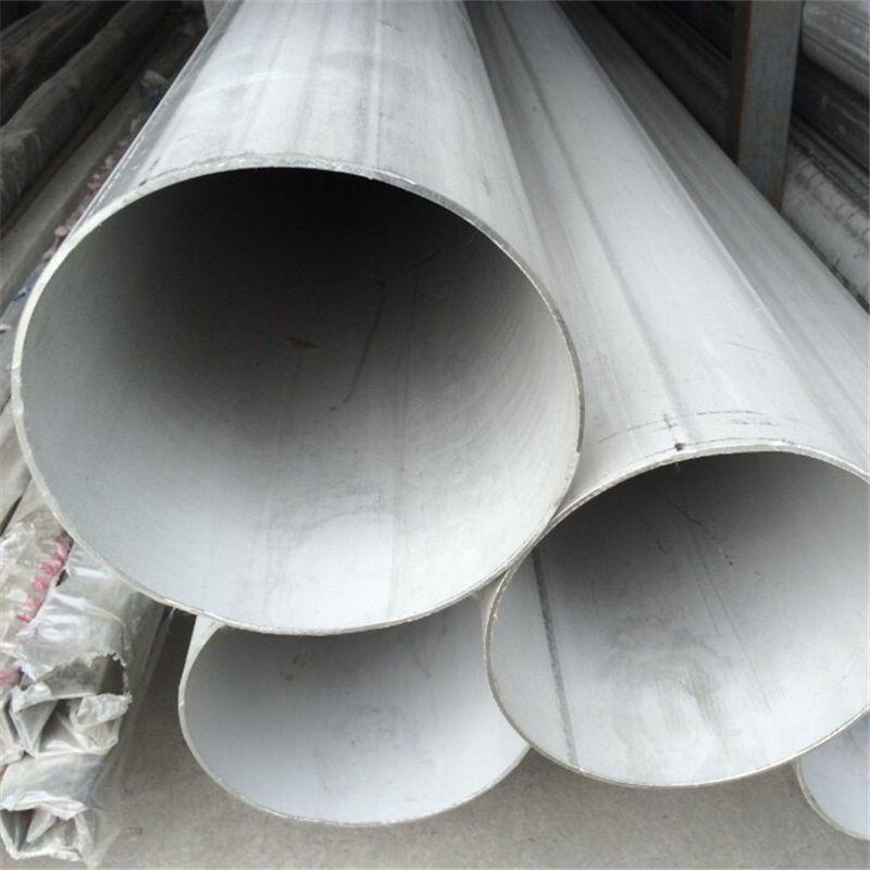 拉丝不锈钢304焊管,管表面无漏焊,不锈钢工业管304