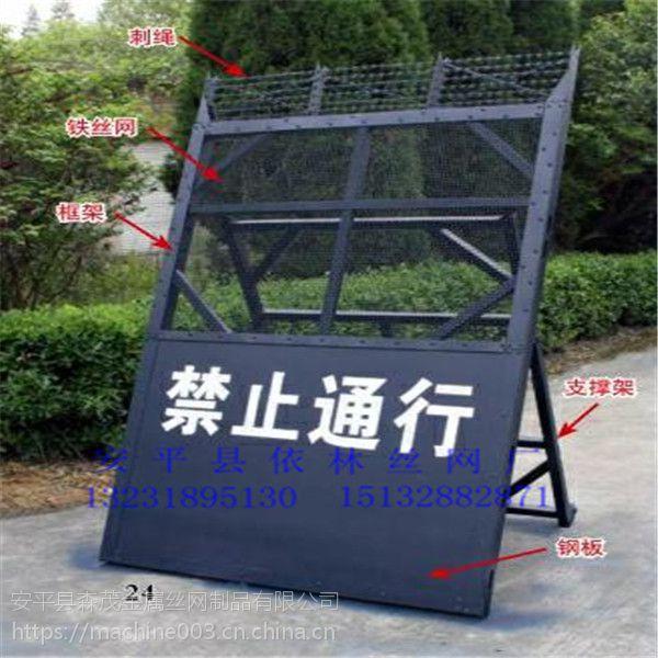 金华1.4米角度调节移动防闯入阻隔离墙路障