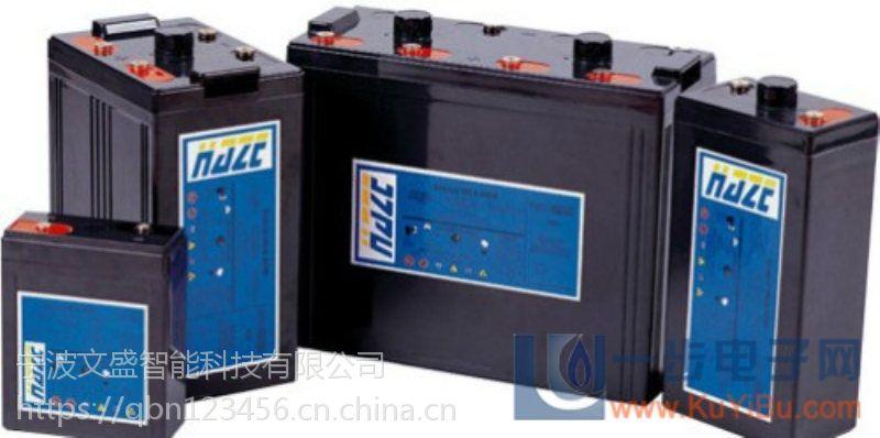 成都海志蓄电池经销商HZB12-110高铁配套专用免维护蓄电池