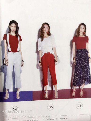 义乌篁园服装市场午后衣橱多种款式服装批发网站欧美一线品牌女装折扣店